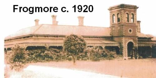 Frogmore circa 1920 title