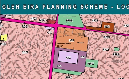 Current Planning Zones