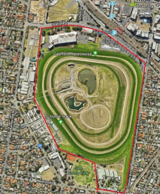 Caulfield Racecourse Parking